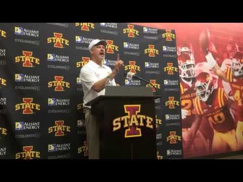 Paul Rhoads Reacts To Iowa State's Loss To Texas