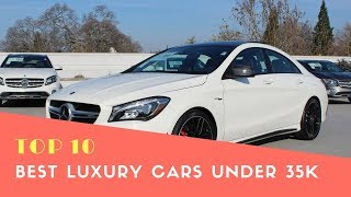 Top 10 Best Luxury Cars Under 35K - Best Cars 2018 - Phi Hoang Channel.