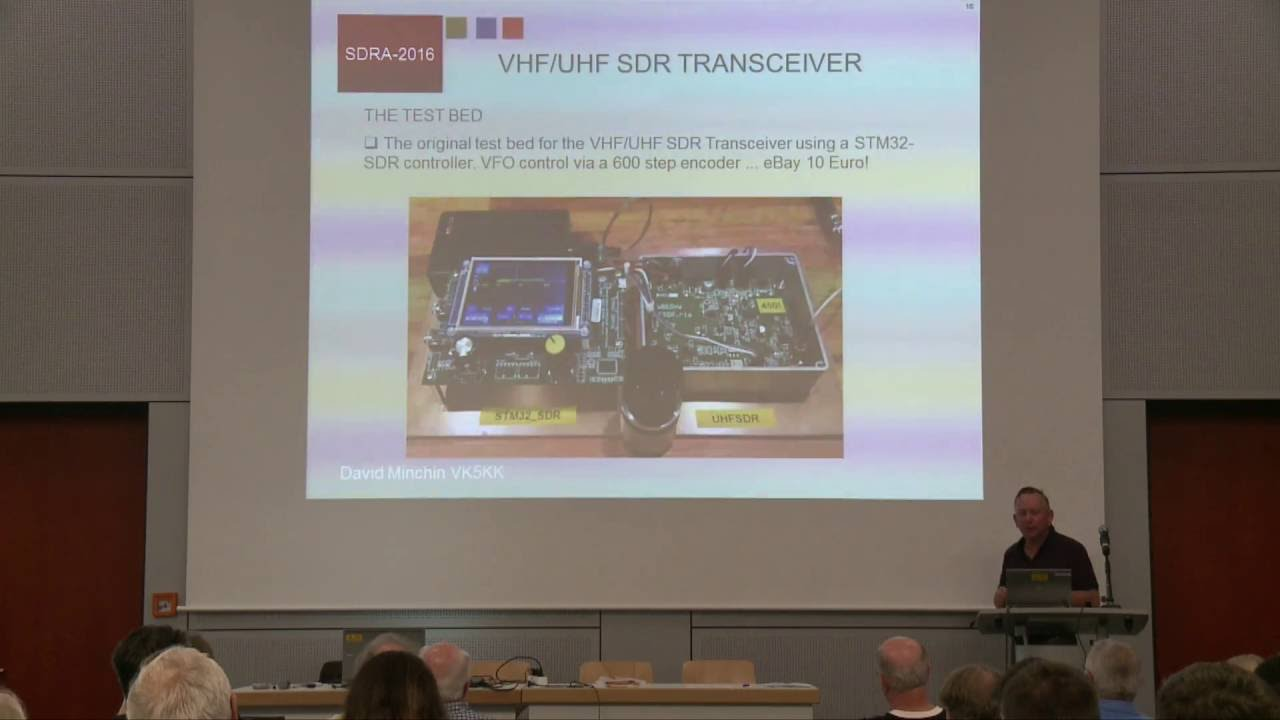 David Minchin, VK5KK: An update on the mcHF SDR Transceiver and Microwave  SDR