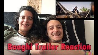 Baagi Trailer Reaction | By American Couples