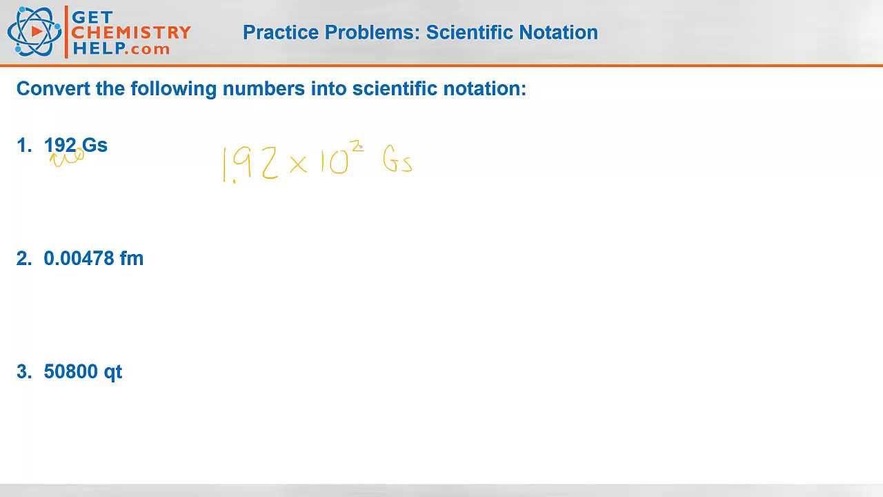 Chemistry Practice Problems Scientific Notation Get Chemistry Help – Mole Calculation Practice Worksheet