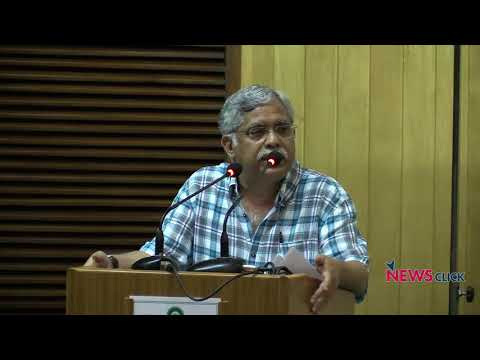 C. P. Chandrasekhar Speaks on 'Revisiting 'Capital' in the Age of Finance'