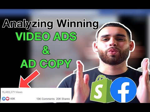 Analyzing Winning Video ADs & AD Copy of Winning Products in 2020 | Shopify Dropshipping thumbnail