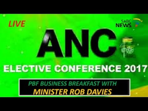 54th ANC Conference Business Breakfast with Rob Davies: 17 Dec 2017