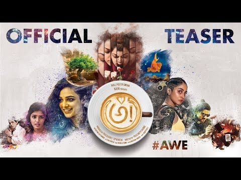 Awe Official Teaser [4K] | Prasanth Varma & Nani