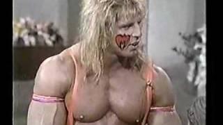 Ultimate Warrior On Regis And Kathy Lee