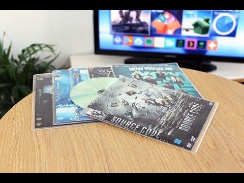 DVD Lommer Til DVD Opbevaring - Plads Til Cover - 100 Stk.