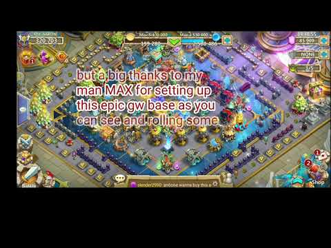 Castle Clash Guild Wars Base(thanks)