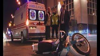 видео На Волині – смертельна аварія: мотоцикліст врізався у дерево