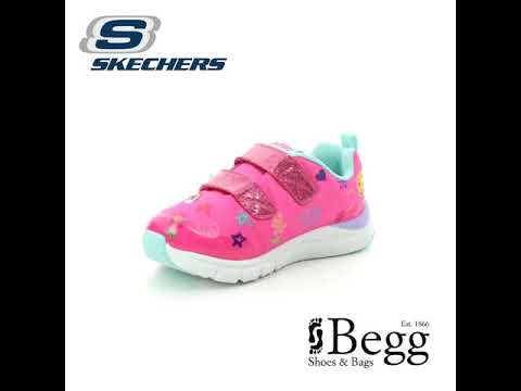 Skechers Jump Lites Inf 82140 HPMT Pink