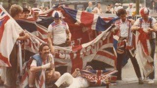Football Hooligans - Denmark v England - 1982