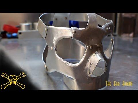Sheet Metal Skull | Mask Fabrication