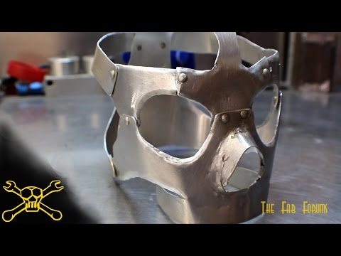Sheet Metal Skull | Mask Fabrication