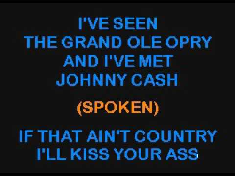 SC2324 05   Coe, David Allan   If That Ain't Country [karaoke]