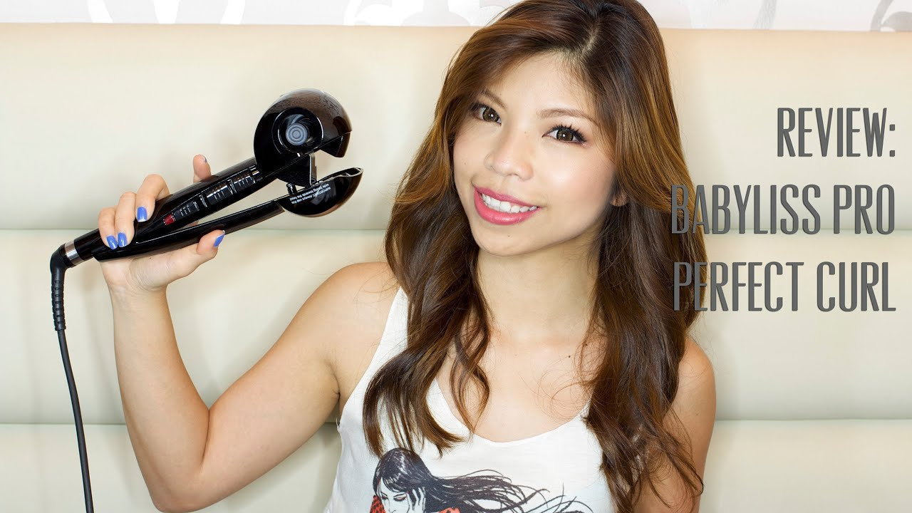 Review Babyliss Pro Perfect Curl Review Demo Youtube