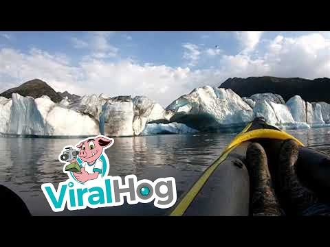 The Mo & Sally Show - Alaska Kayakers Have Close Call With Falling Glacier
