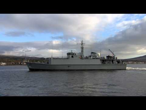 See MOD Police Marine Unit in action