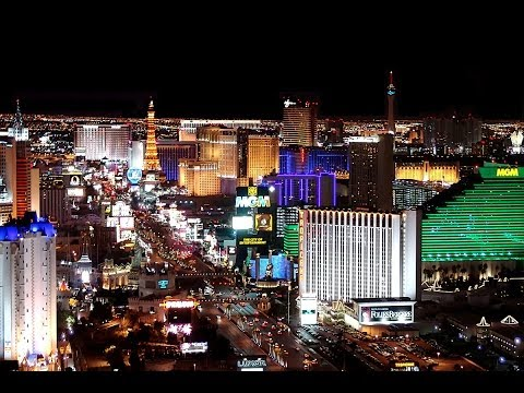 Aerial View of Las Vegas Strip