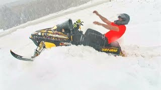 SNOWMOBILE GOON RIDING !!!