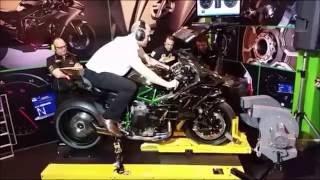 Test Kawasaki Ninja H2R: World's Fastest Motor (HD)