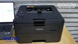 브라더코리아 레이저프린터 HL-L2360DN 인쇄 테스…