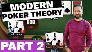 PART 2!!! How t๐ Use MODERN POKER THEORY - $25,000 Buy-in Super High Roller!