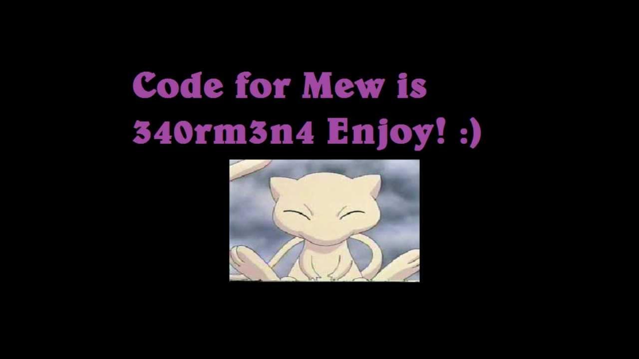 Pokemon Tower Defense Mew Mystery Gift Code Ptd Youtube