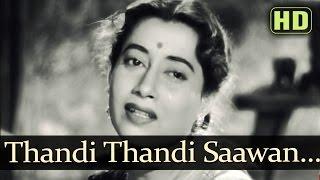 Thandee Thandee Savan (HD) - Jagte Raho Songs - Raj Kapoor - Nargis Dutt - Asha Bhosle
