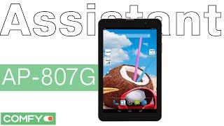 Assistant AP-807G - планшет с хорошим экраном - Видеодемонстрация от Comfy.ua
