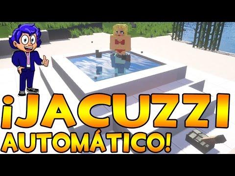 Jacuzzi autom tico y luminoso minecraft asurekazani for Blancana y mirote minecraft