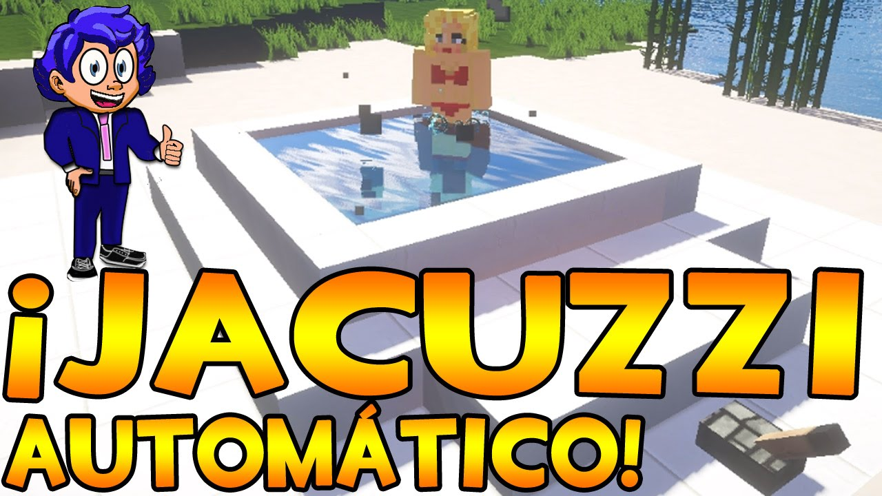 Jacuzzi autom tico y luminoso minecraft kinotubeinfo for Blancana y mirote minecraft