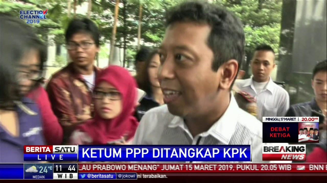 Kpk Tangkap Ketua Ppp Twitter: Ketua Umum PPP Muhammad Romahurmuziy Ditangkap KPK