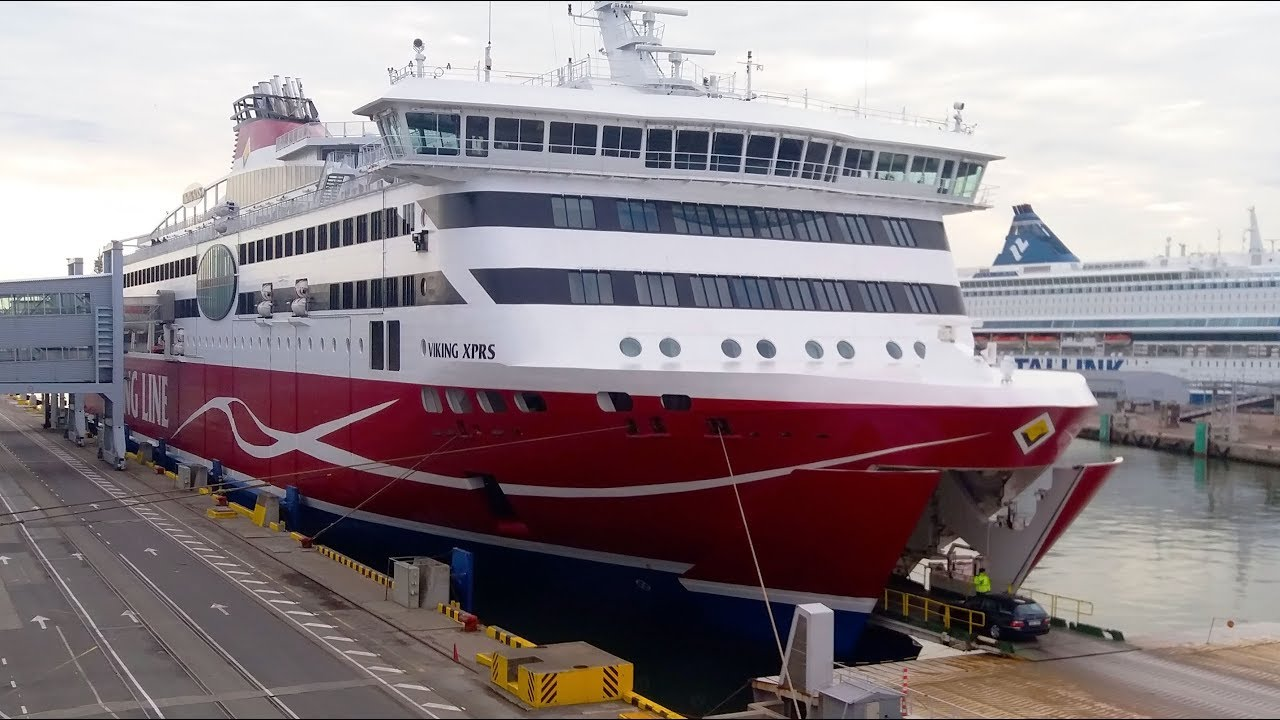 viking line 50 år Viking XPRS ferry Tallinn to Helsinki Viking Line   YouTube viking line 50 år