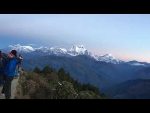 Trekking to Ghorepani poon hill
