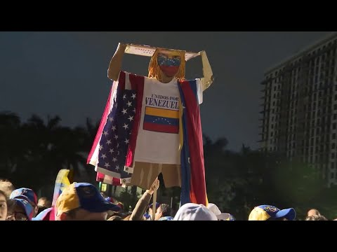 Venezuelans in South Florida take to streets to protest Maduro