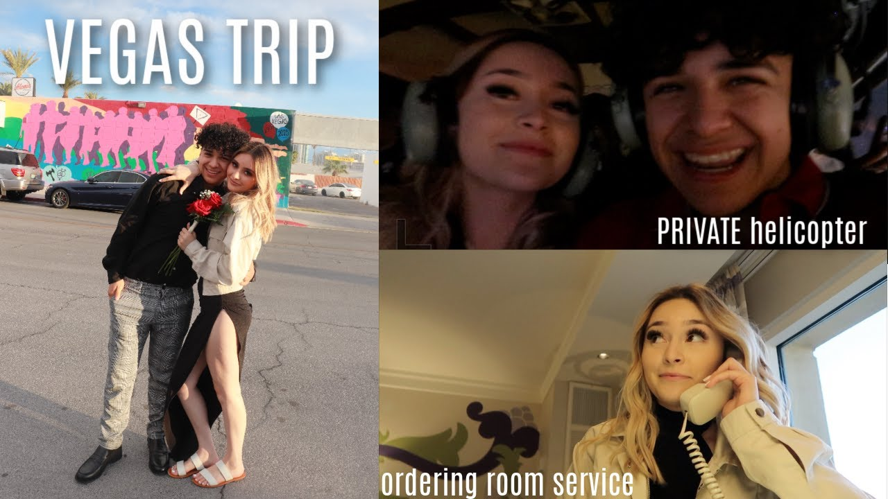 WE TRAVELED TO VEGAS TOGETHER FOR THE FIRST TIME