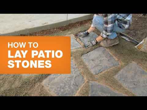 How To Lay Patio Stones