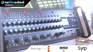 Zoom Live Trak L-20R for Podcasting, Live Mixing & Multi-track Recording