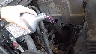 Присадка в мотор и чуть не спалил мозги в Тахо