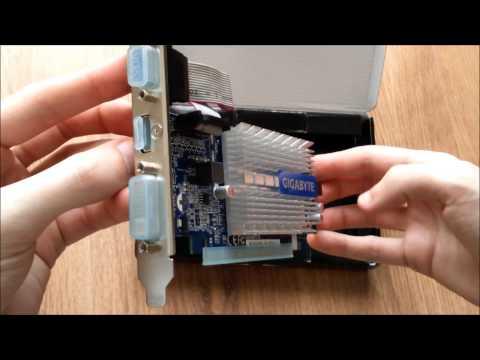 """Gigabyte GeForce GT 210 1GB DDR3 - """"64bits"""" (GV-N210SL-1GI)"""