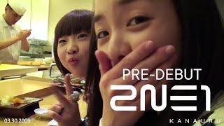 2NE1 Pre-Debut Footage - 03.30.2009
