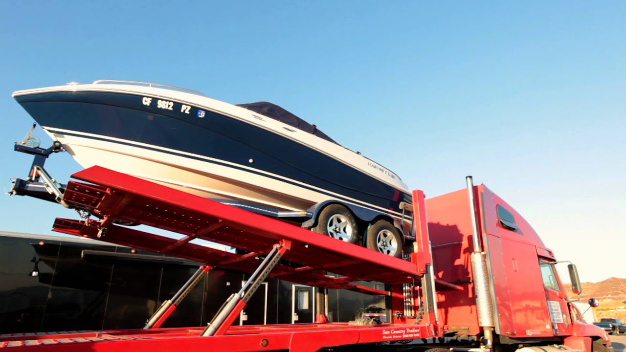 how to make a drive on boat trailer
