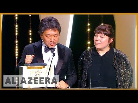 🎬 Cannes film festival: Shoplifters wins top prize | Al Jazeera English