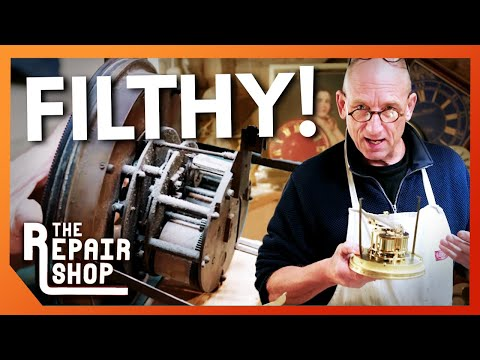 Granddaughter Clock Needs 40 Years of Grime Removed | The Repair Shop