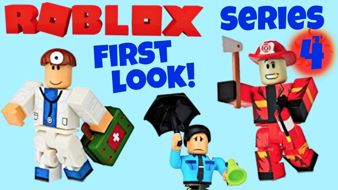 Roblox Series 4 - Roblox Toys Citizens Of Roblox Series 4 Coming Soon