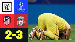 Salah gewinnt Doppelpack-Duell gg. Griezmann: Atletico – Liverpool 2:3 |UEFA Champions League| DAZN