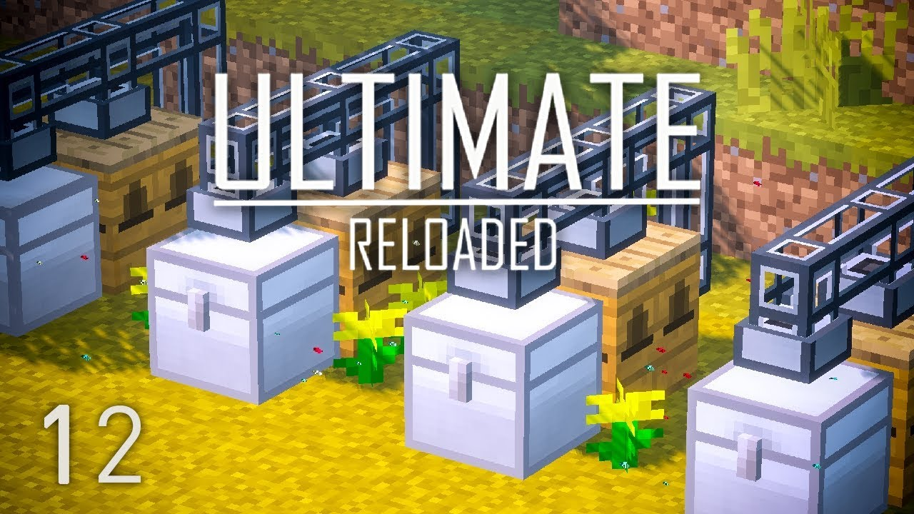 FTB Ultimate Reloaded Modpack Ep  12 Forestry Bees Automation