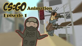 CS:GO Animation Ep.1 Global VS Silber
