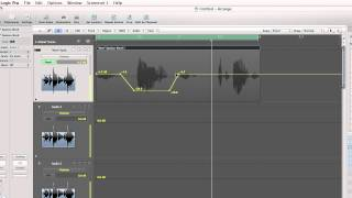Logic Pro Tutorial: How to use automation to adjust a tracks volume