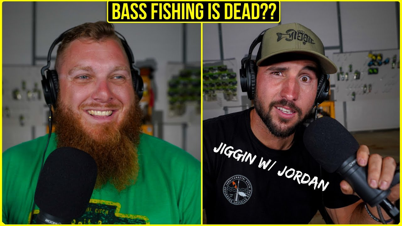 Bass Fishing is DEAD on YouTube?? ft. Jiggin w/ Jordan - Fishing After Dark ep. 14